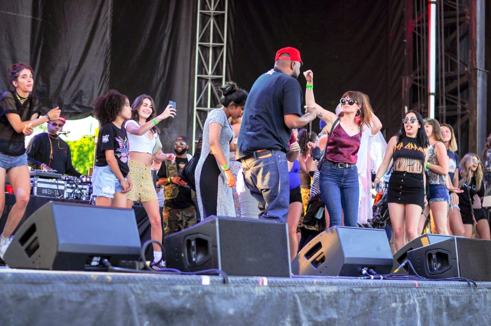 Ghostface Killah NXNE 2016 Toronto Girls on Stage