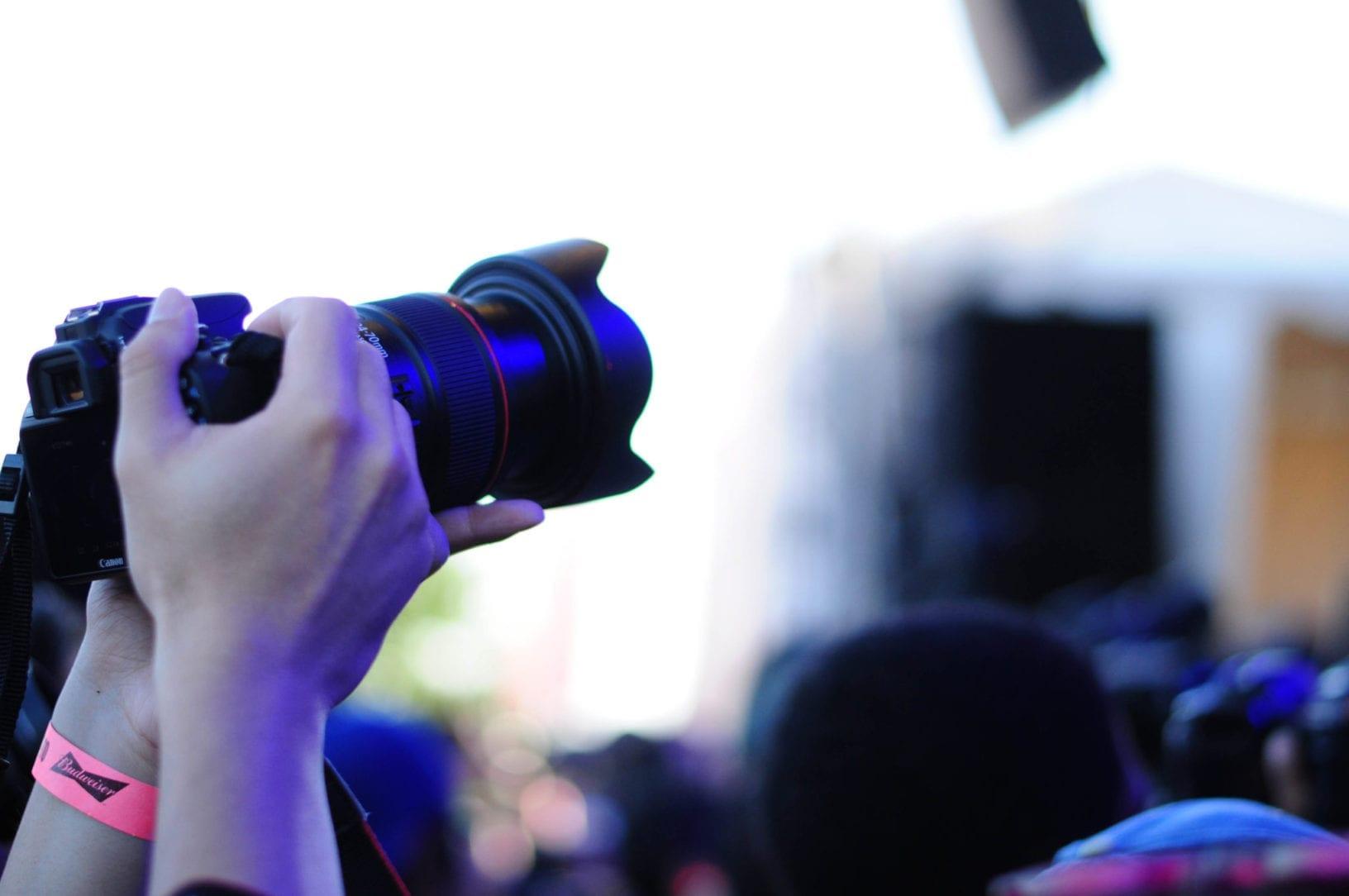 Ghostface Killah NXNE 2016 Media takes pictures