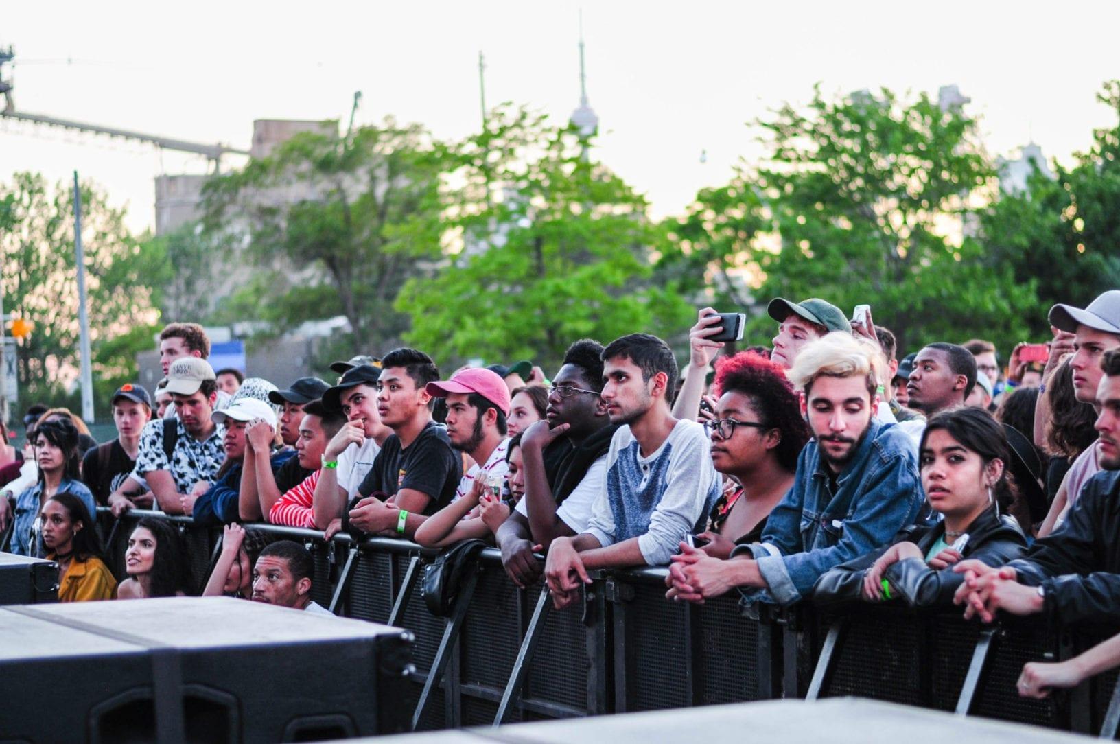 Daniel Caesar NXNE 2016 Crowd
