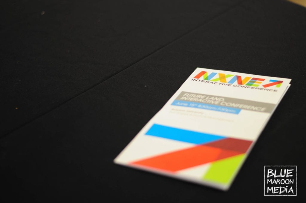 NXNE Future land Interactive Conference Pamphlet