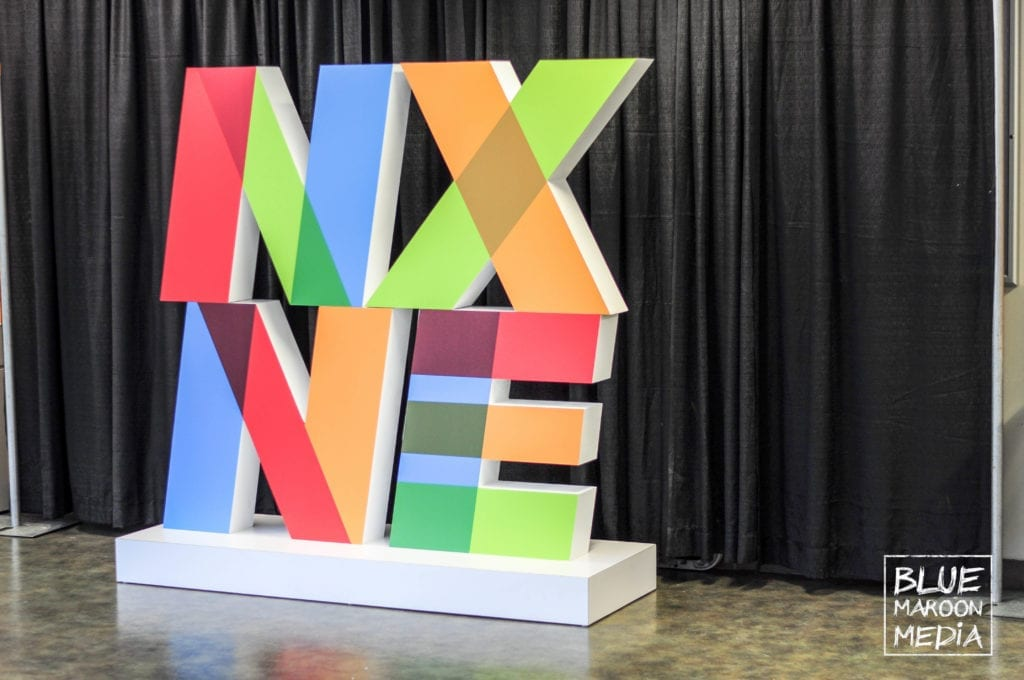 NXNE Future land Interactive Conference Sign