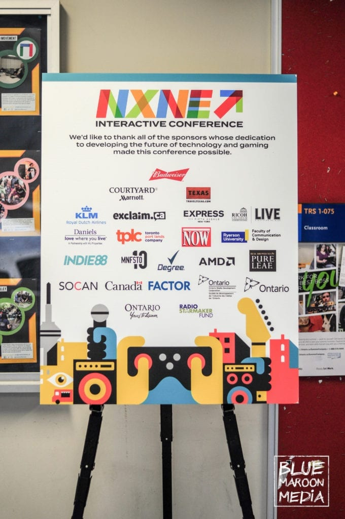 NXNE Future land Interactive Conference Sponsors