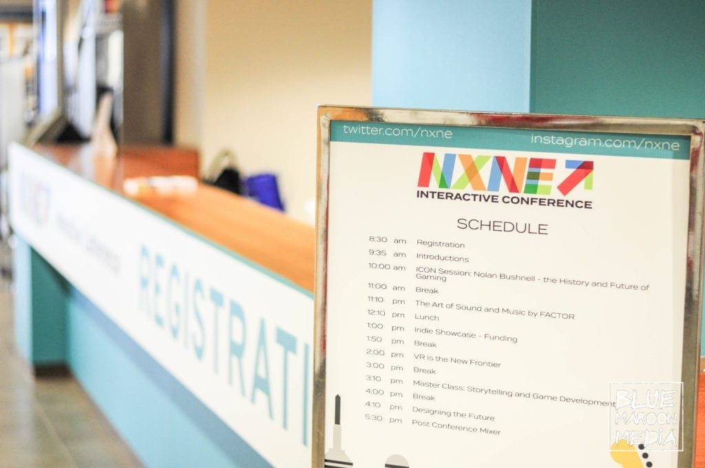NXNE Future land Interactive Conference Schedule