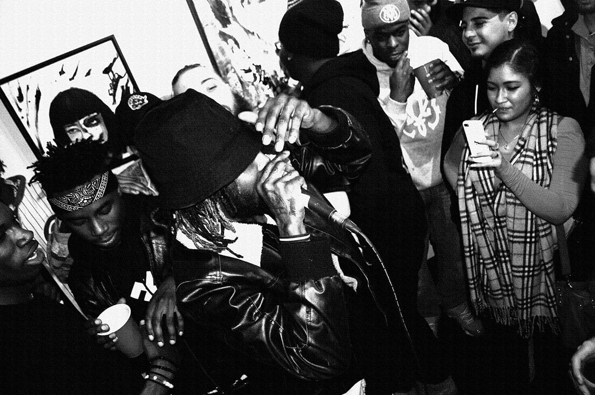 Rappers Young Lords Cypher at 416 Gallery